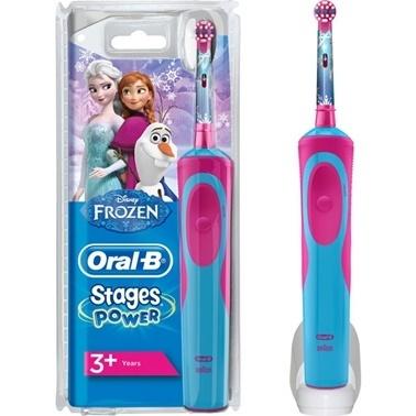 Oral-B Çocuklar İçin Şarj Edilebilir Diş Fırçası Frozen Özel Seri Renkli